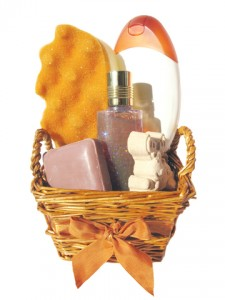 Make Your Own Spa Gift Baskets