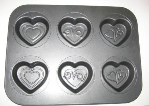 Heart Shaped Molds