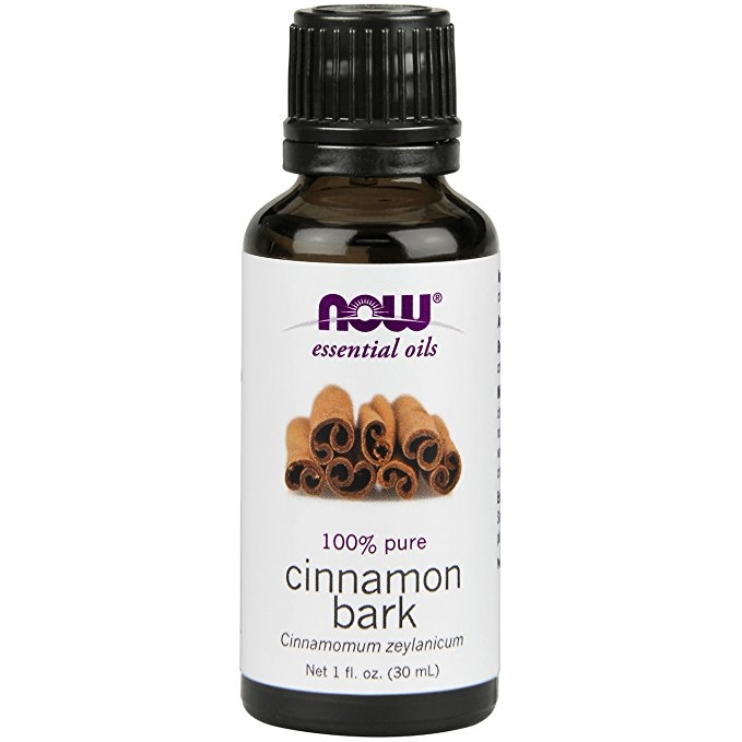 NOW Cinnamon Bark Oil, 1-Ounce