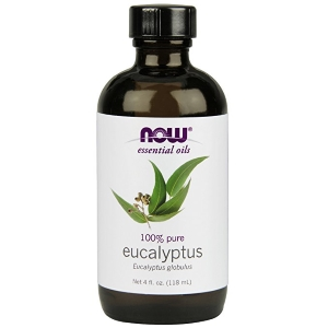 NOW Eucalyptus Oil, 4-Ounce