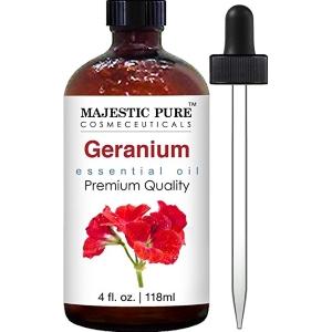 Majestic Pure Geranium Essential Oil, 4 fl. oz.