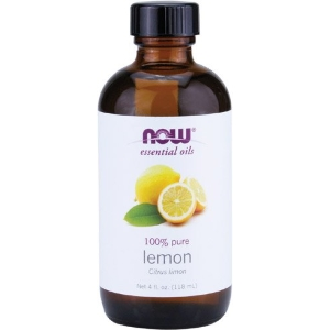 NOW Lemon Oil, 4-Ounce