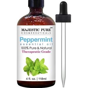 Majestic Pure Peppermint Essential Oil, Premium Quality, 4 fl. oz.