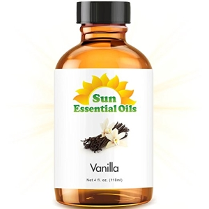 Vanilla - LARGE 4 OUNCE - 100% Pure Essential Oil (Best 4 fl oz / 118ml)